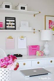 organized home office. Office-organization-desk-side Organized Home Office