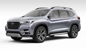 2018 subaru new suv. interesting subaru 2018 subaru ascent suv concept unveiled in new york inside subaru new suv a