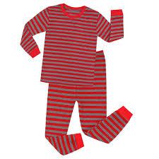 Designer Christmas Pajamas Kids Designer Clothes Boys Girs Christmas Pajamas Designer Long Sleeve Deer Tops Striped Pant Nightwear Sleeping Clothes Gifts Pajamas For Baby Red
