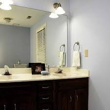 bathroom mirror makeovers