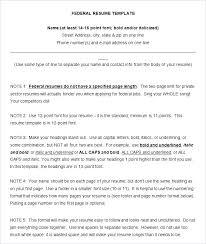 Employment Resume Sample Resume Jobs Resume Sample Example Federal ...