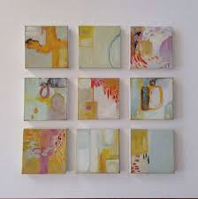 small abstract painting small abstract by artbyjohnnaayalin artfully abstract paintings mixed a and collage