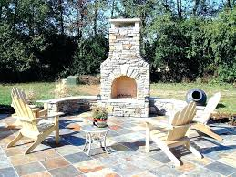 prefab outdoor fireplace outdoor fireplace kit
