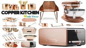 Copper Kitchen Decorations Daily Decor Copper Kitchen Decor Youtube