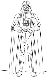Small Picture Darth Vader coloring page Free Printable Coloring Pages