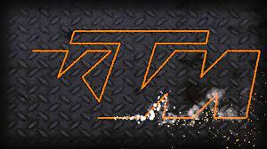 ktm logo hd wallpaper,schriftart,text ...