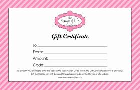 Kleurplaten Printable Christmas Gift Certificate Template Free