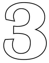 Numero 3 Da Stampare Playingwithfirekitchencom
