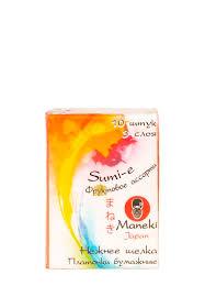 <b>Платочки бумажные Maneki Sumi-e</b> 3 слоя с ароматом фруктов ...