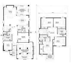 double y house plans home design ideas best two