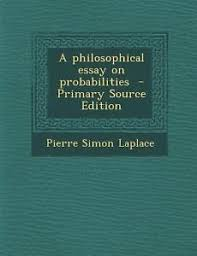 philosophical essay on probability philosophical essay on probability laplace