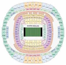 Superdome Seating Chart With Row Numbers Saints Tickets 2019 New Orleans Saints Schedule Buy At