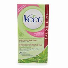 veet salon line wax strips reviews in