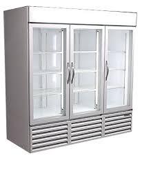 used glass door cooler