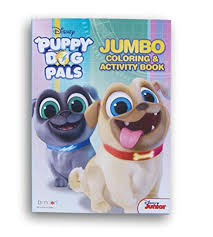 Amazoncom Puppy Dog Pals Coloring And Activity Book 64 Pages