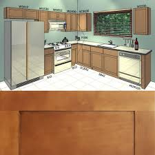 10x10 Kitchen Cabinets Maple Wood Modern Ready To Assemble Prefab
