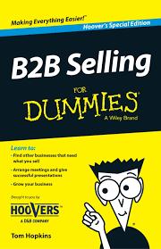 B To B Sales B2b Selling For Dummies