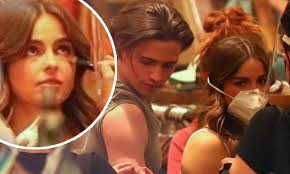 Tanner buchanan was born on 8 december 1998, in ottawa, ohio, usa, and is an actor, probably best known for his work in the youtube series cobra kai, in which he plays the role of robby keene. Addison Rae And Her Co Lead Tanner Buchanan Seen For First Time Shooting Scenes For He S All That Daily Mail Online