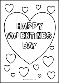 Small Picture Valentines Day Colouring Sheets