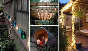 diy outdoor lighting. Summer Is Here! The Life Of Night An Important Part For Us To Spend This Hot Weather. Example, When Falls, We Often Like Entertain Friends Diy Outdoor Lighting