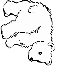 Small Picture Polar Bear Coloring Pages Coloring Home