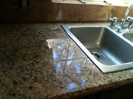 Granite Kitchen Sinks Pros And Cons Nobody Does Drop In Sink On Stone Countertop Really