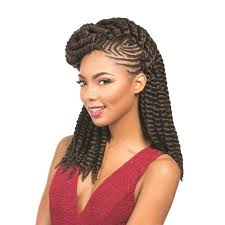 Twist Braids Hair Style hairlicious sensationnel synthetic hair kanekalon braid rumba 2459 by wearticles.com