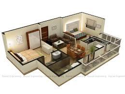 modern 3d floor plan design arch student com house plans desig