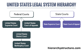 Hierarchy Of United States Legal System Hierarchy Structure