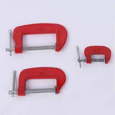 "<b>Adjustable DIY</b> Carpentry <b>Gadgets</b> Heavy Duty G Clamp Red 1"" /2''/3 ..."