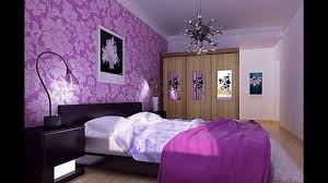 Purple And Grey Bedroom Ideas With Oak Furniture
