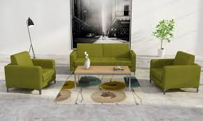 office sofa set. China Modern Fabric Office Sofa Set With Steel Legs - Sofa,