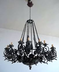 large wrought iron chandeliers large wrought iron chandeliers classic and wrought iron wrought iron chandelier large