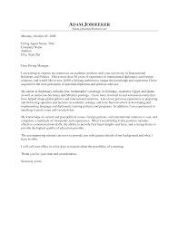Cover Letter For University Job Resume Cv Cover Letter
