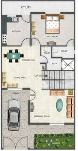 duplex house designs floor plans