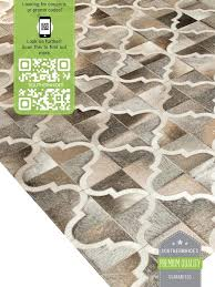 cowhide patch rug t natural
