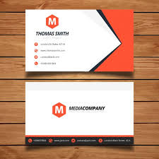 business card template designs red business card template design vector free download