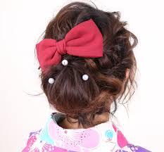 成人式振袖に合うヘアスタイル