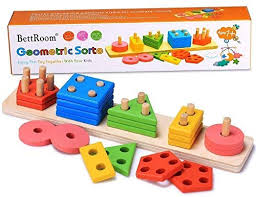 Bettroom <b>Wooden educational preschool toddler</b> toys for 1 2 3 4-5 ...