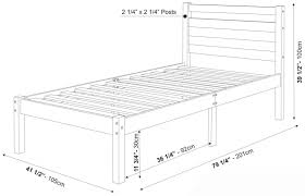 Dimensions Of Twin Xl Bed Best Home Photo Extra Long Twin Bed Measurements  Extra Long Twin. >>