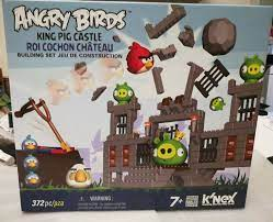 Angry Birds King Pig Castle - K'Nex 372 piece set for sale online