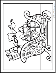Small Picture Christmas Coloring Pages Booklet Coloring Pages