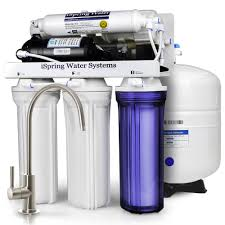 Home Ro Water Systems Ispring Rcc100p 5 Stage Maximum Performance Reverse Osmosis