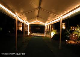 marquee lighting. LED Rope Lighting Can Be Installed Behind The Lining Trim Around Whole Marquee, It Also Utilised In Awnings Or As A Feature When Attached To Marquee