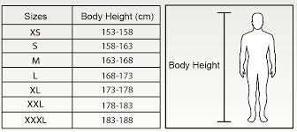 mexico clothing size chart size charts for fr protective clothing size charts technical