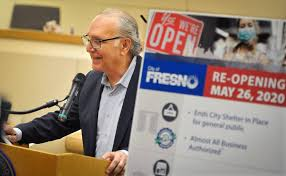 Friday local time and restricts residents to their homes except for work, to shop for essential supplies. Mayor Fresno Ca Shelter In Place Will Be Lifted May 26 The Fresno Bee