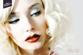 dollface makeup using mac cosmetics