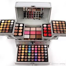 full makeup set various colors makeup suits universal cosmetic bag professional makeup artist professional box with