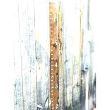 Pottery Barn Growth Chart Diy Wooden Charts Cleverotvet Info