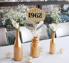 50th wedding anniversary centerpieces by charming wedding accessories